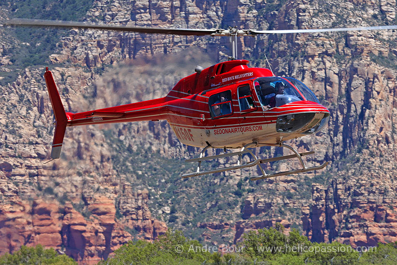 Hélicoptère Bell 206 JetRanger N150F Red Rock Helicopters