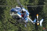 Hélicoptère EC145 de la Gendarmerie Nationale