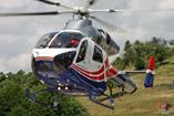 L'hélicoptère MD902 de la Luxembourg Air Rescue (LAR)