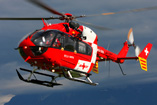 Hélicoptère de secours EC145 de la REGA