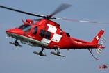 L'hélicoptère AW109 Grand de la REGA suisse