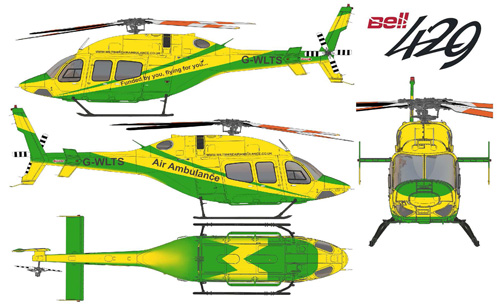 B429 Wiltshire Air Ambulance