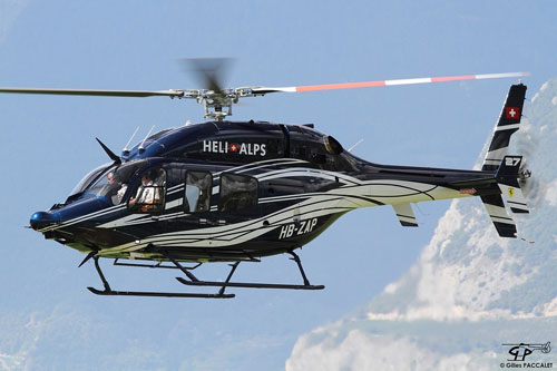 Hélicoptère BELL 429 HB-ZAP HELI ALPS