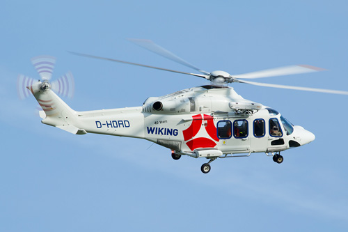 Hélicoptère AW139 H-OAD de WIKINGG HELIKOPTER SERVICES