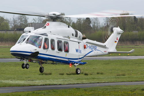 Hélicoptère AW139 H-OAB de WIKINGG HELIKOPTER SERVICES