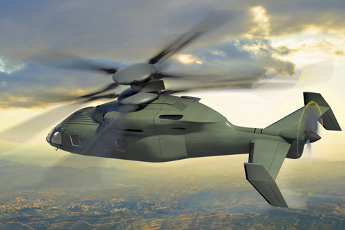 SIKORSKY X2 Future Vertical Lift
