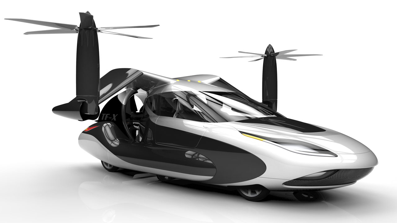 terrafugia tf x voiture avion et h licopt re helico passion. Black Bedroom Furniture Sets. Home Design Ideas