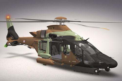 Hélicoptère HIL H160M Guépard de l'Armée de Terre (ALAT)