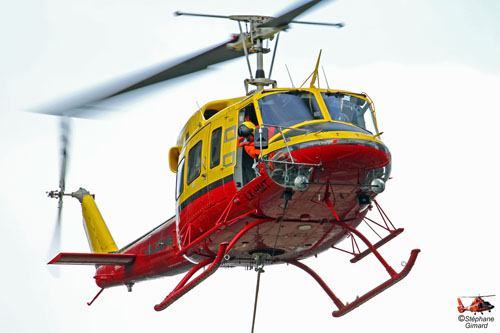 Hélicoptère Bell 212 LX-HMT d'HELICONIA