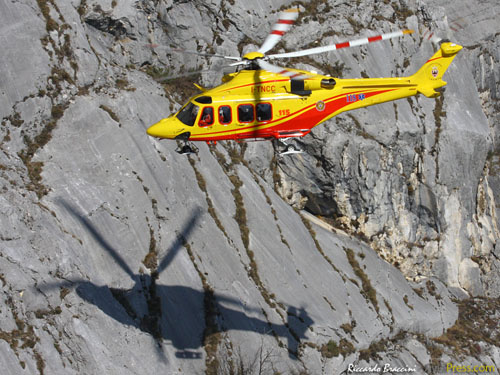 Hélicoptère AW139 I-TNCC de Nucleo Elicotteri Trentino
