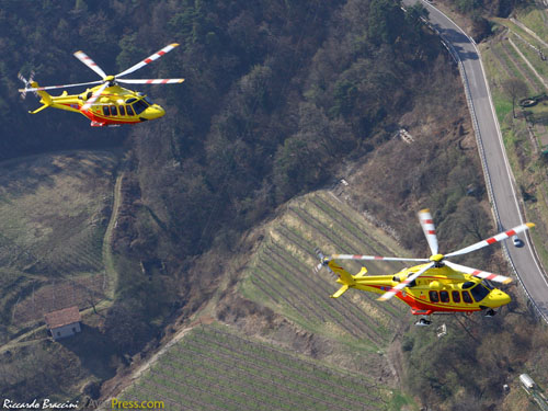 Hélicoptères AW139 I-TNDD et I-TNCC