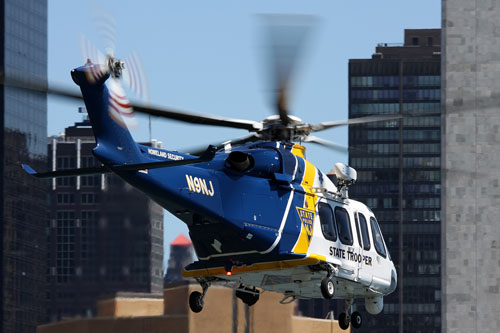 Hélicoptère AW139 N9NJ, New Jersey State Police