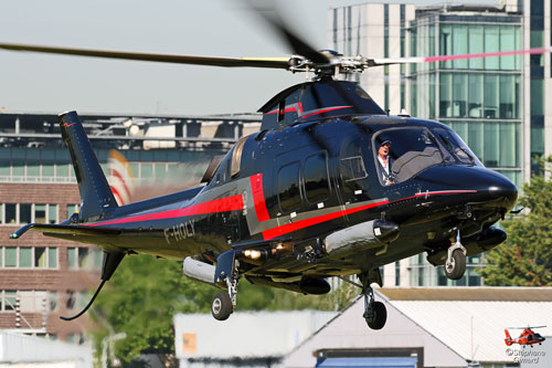 Hélicoptère AW109 F-HOLY