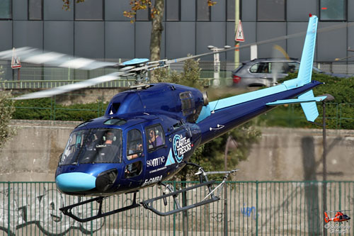 Hélicoptère AS350 Ecureuil F-GMBA