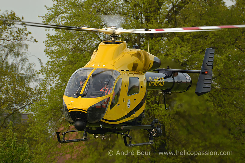 McDonnell Douglas MD902 Explorer rescue and police helicopter, Devizes, UK
