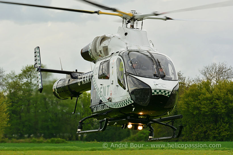 McDonnell Douglas MD902 Explorer rescue helicopter, Marden, UK