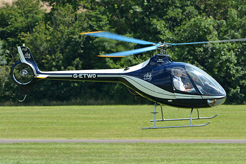 Hélicoptère Cabri G-ETWO EBG HELICOPTERS