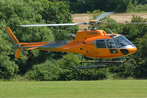 Hélicoptère AS350 B2 Ecureuil G-ERKN London Helicopter