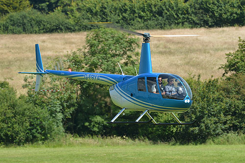 Hélicoptère Robinson R44 G-FRYA EFL HELICOPTERS