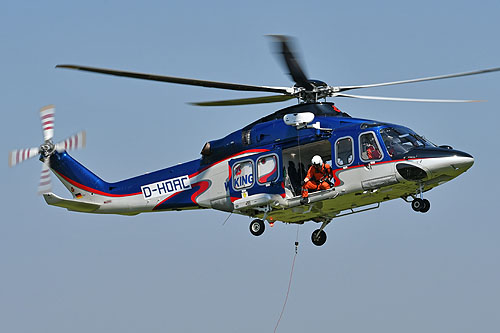 Hélicoptère AW139 D-HOAC de WIKING HELIKOPTER SERVICE